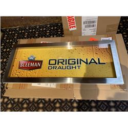 NEW sleeman original light up sign