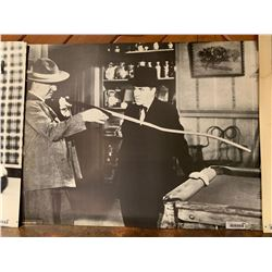 W.C. Fields Pool Hall Poster