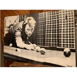 Classic Clint Eastwood Pool Poster