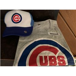 MLB Shirt and Hat Set - Cubs