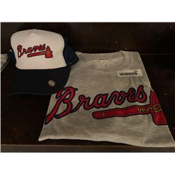 MLB Shirt and Hat Set -Braves