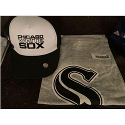 MLB Shirt and Hat Set -White Sox