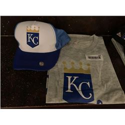 MLB Shirt and Hat Set -Royals