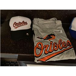 MLB Shirt and Hat Set -Orioles