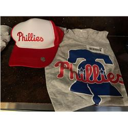 MLB Shirt and Hat Set -Phillies
