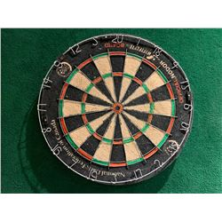Nodor Dart Board with green chalk score board