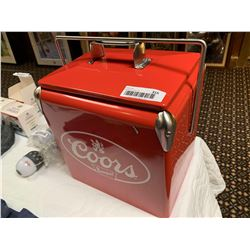 NEW Coors metal beer cooler