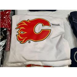 Lot of 5 Calgary Flames Shirts