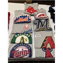 Lot of 9 MLB assorted Teams Shirts