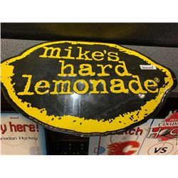 Mikes Hard Lemonade metal sign