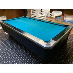 Dynamo 5x9 coin operated pool table