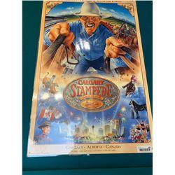 Calgary Stampede Poster laminated - 1998