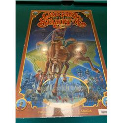 Calgary Stampede Poster laminated -1995