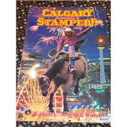 Calgary Stampede Poster laminated -1989