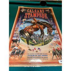 Calgary Stampede Poster laminated -1999