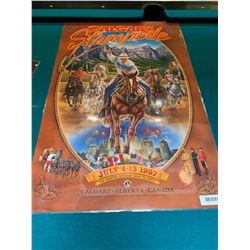 Calgary Stampede Poster laminated -1997
