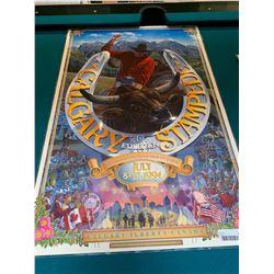 Calgary Stampede Poster laminated -1994
