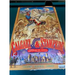 Calgary Stampede Poster laminated -1993