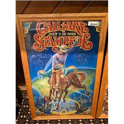 Framed Calgary Stampede Poster -1995