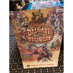 calgary stampede poster - 1988