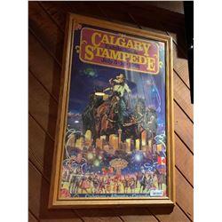 Framed Calgary Stampede Poster- 1991