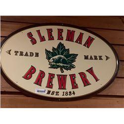 Sleeman Brewery metal Sign
