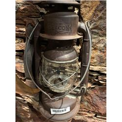 Antique Beacon Oil Lamp