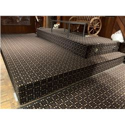 Double Tier Carpeted Stage
