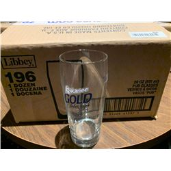 Case of 12 - Kokanee Beer Glasses