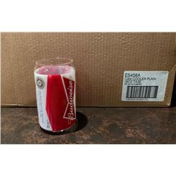 Case of 30- Budweiser can glasses