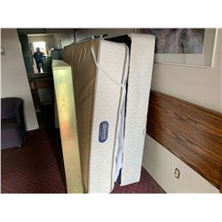 Motel Guest Room number: 1 includes as pictured: queen mattress set, tub chair, desk, flat screen 32