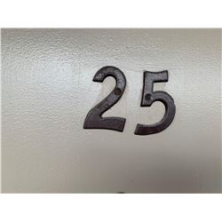 Motel Guest Room number: 25 includes as pictured: armoire dresser, desk with chair, luggage bench, W
