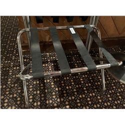 Lot of 3 Luggage Stands