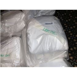 LINENS: Lot of 7 Queen flat & fitted sheets