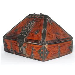 Antique Malabar South India Dowry Box