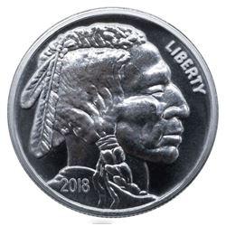 1 oz Buffalo Silver Round (.999 Pure)