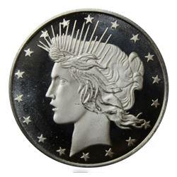 1 oz Silver Round | Peace Dollar Design (.999 Pure)