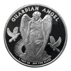2017 1 oz Guardian Angel Silver Coin - Niue $1