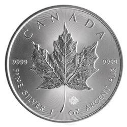 Silver Maple Leaf Bullion Coins