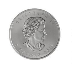Canadian Maple Leaf 5 Dollar 1 Ounce