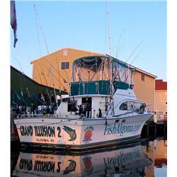 9 - LAKE MICHIGAN FISHING CHARTER FOR 4 ANGLERS