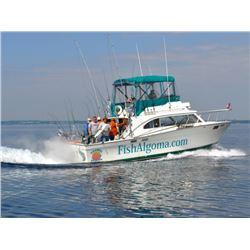 10 - LAKE MICHIGAN FISHING CHARTER FOR 4 ANGLERS