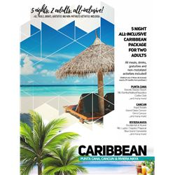 34 - CARIBBEAN VACATION PACKAGE FOR 2