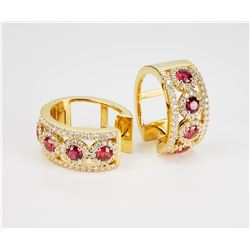 Effy  Ruby Royale  earrings