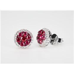 """Effy """"Ruby Royale"""" earrings"""