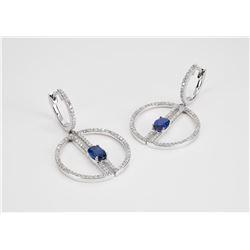 """Effy """"Gemma Blue"""" earrings"""