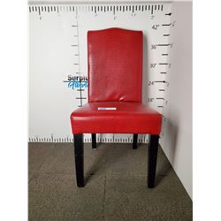 Fancy Red Dining Chair