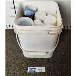 Bin of Hot Tub Chemicals