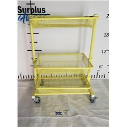 Yellow Craft Side Cart