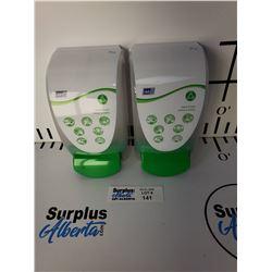Lot of 2 New Deb Hand Cream Dispensers